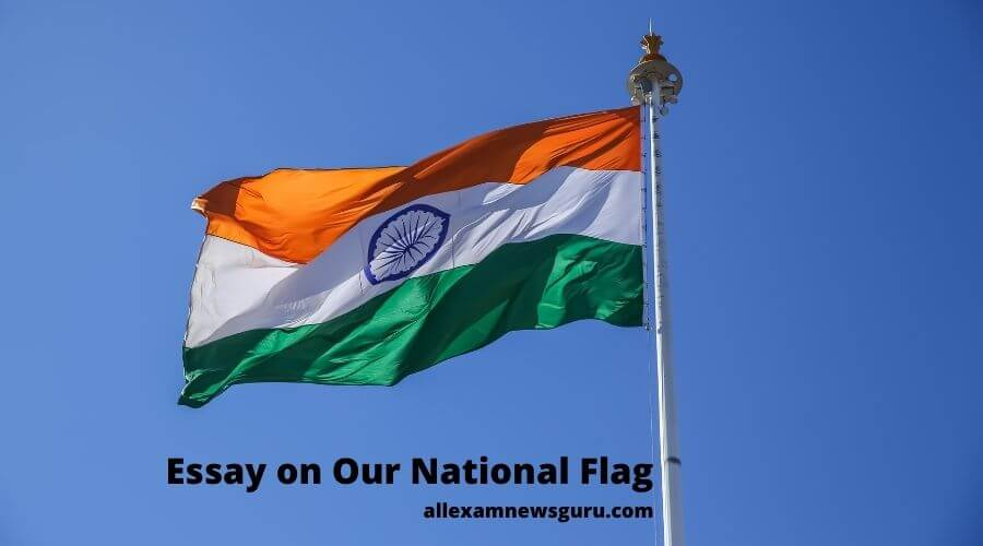 Essay on our National Flag
