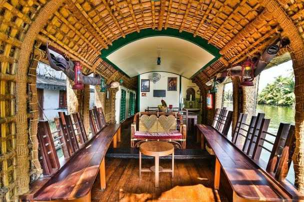 Image of Houseboat Interior